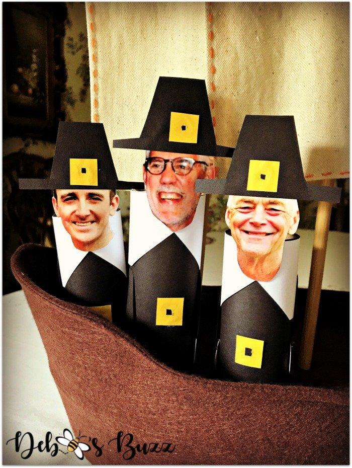 family-photo-pilgrim-men-place-cards
