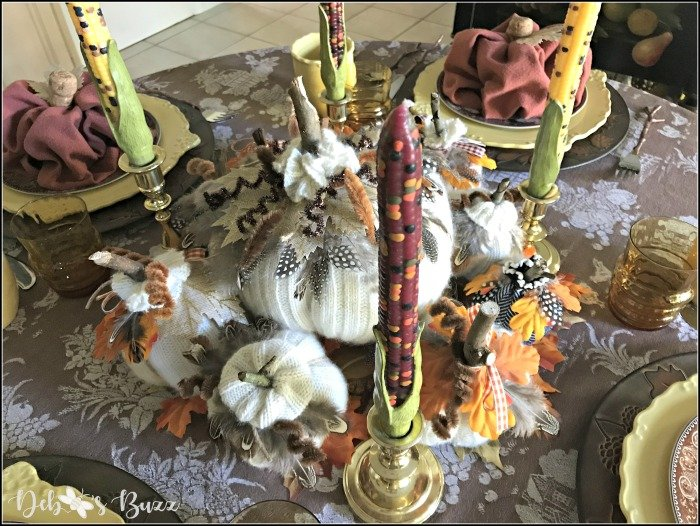 Pumpkin Patch Table for Thanksgiving Brunch