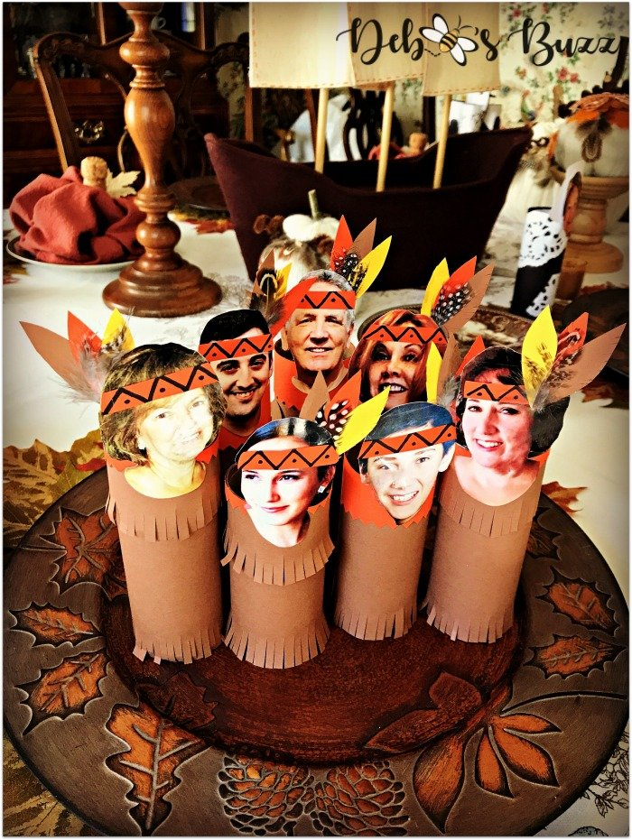 thanksgiving-photo-place-cards-indian-group