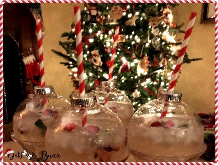 DIY Christmas Cocktail Ornament Balls