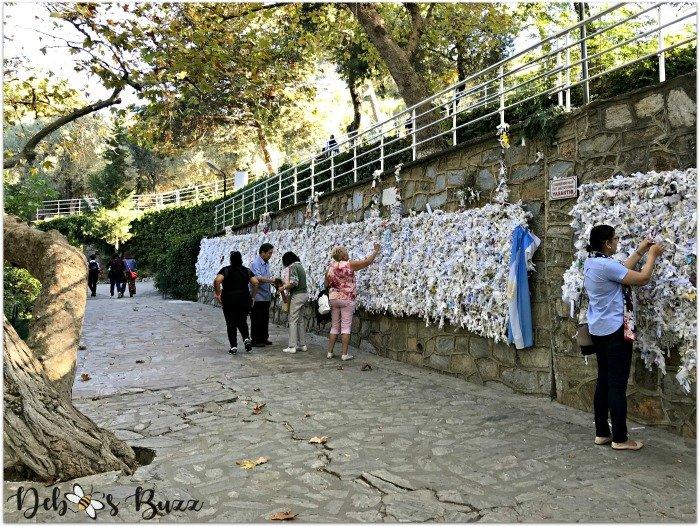 ephesus-turkey-Marys-house-wishing-wall
