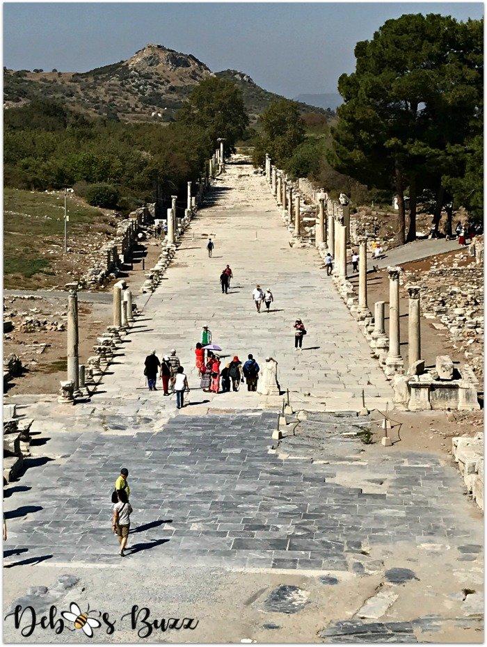 ephesus-turkey-marble-road