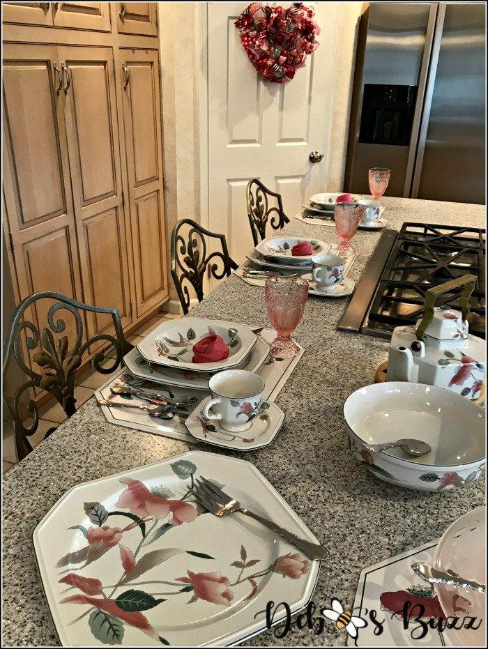 pink-valentines-day-table-kitchen-island-bar