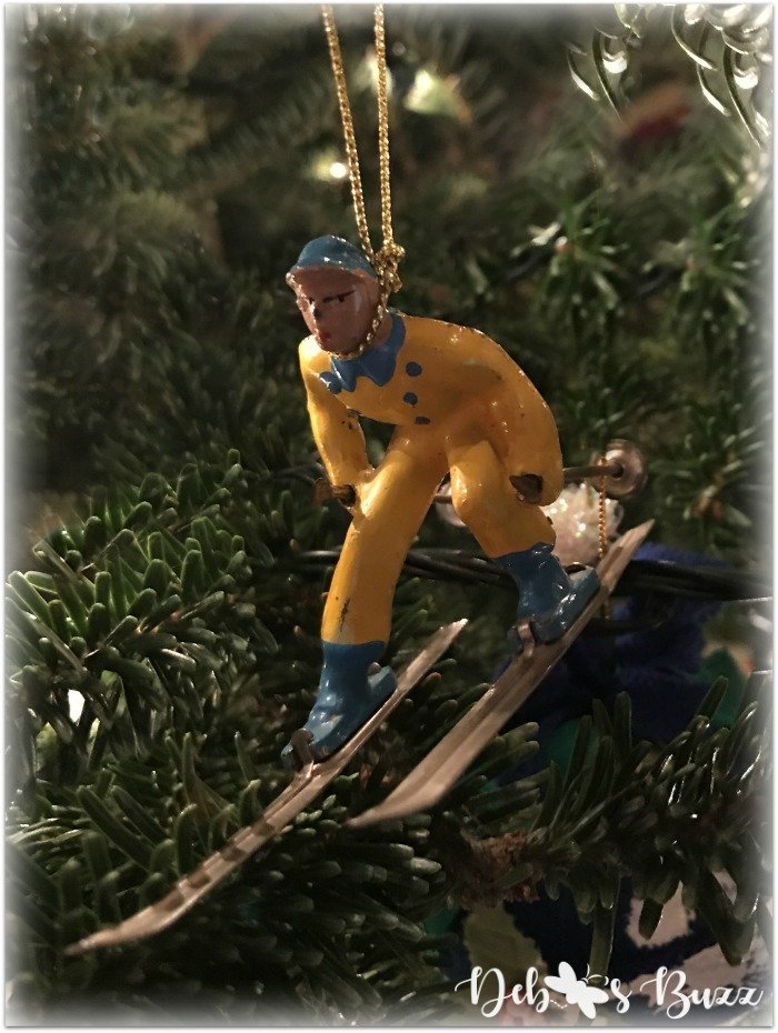 vintage-male-metal-skier-yellow-christmas-ornament