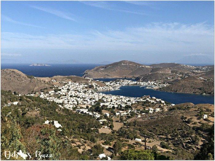 Patmos-Greece-Chora-town-harbor-view