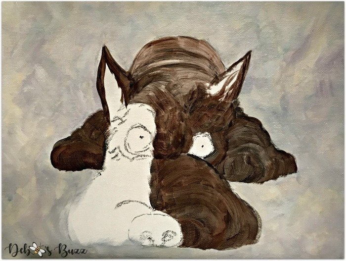 arts-craft-project-acrylic-painting-scottie-dog-rough