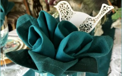 Pretty Flower Napkin Fold Tutorial