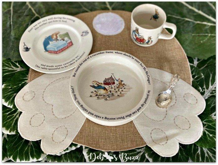 Beatrix-Potter-Peter-Rabbit-childs-place setting