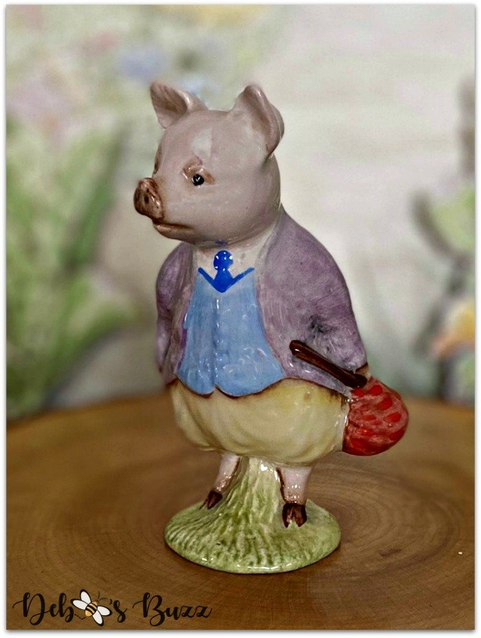 Beatrix-Potter-figurine-piggy-bland