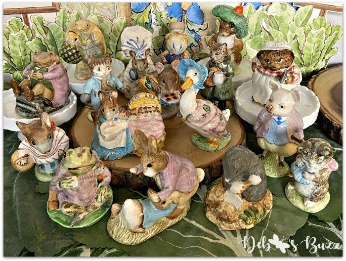 Easter-Beatrix-Potter-figurine-collection