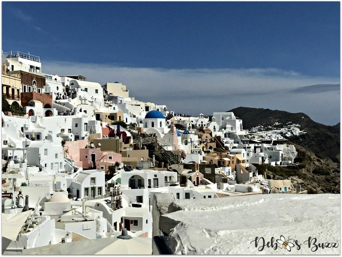 Santorini-Greece-Oia-whitewashed-terraced-buildings