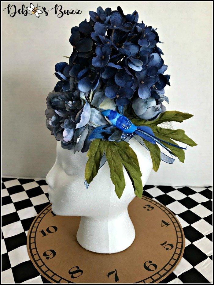 blue-floral-fascinator-side-view