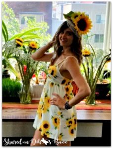 sunflower-fascinator-outfit