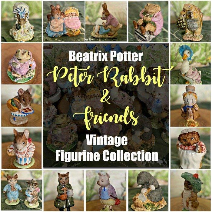 vintage-Beatrix-Potter-figurine-collection-peter-rabbit