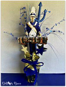photo-tabletop-graduation-party-decoration-blue-devil-drummer