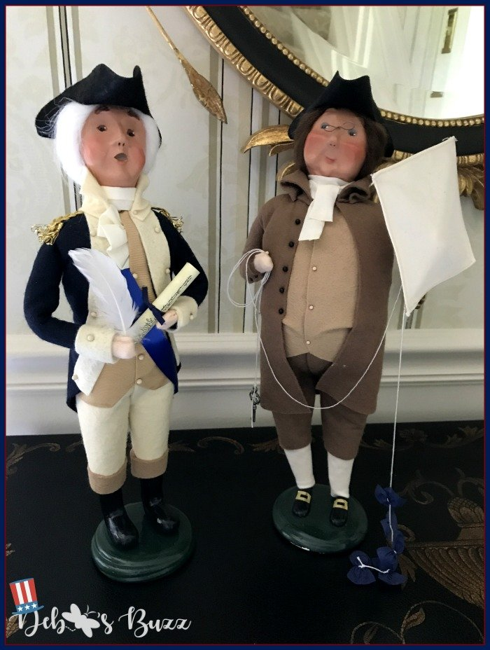 General-Washington-Ben-Franklin-Byers-Choice-Independence-Day-decor