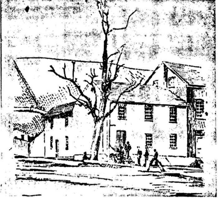 Wayside-Inn-etching-Lewistown, Pennsylvania