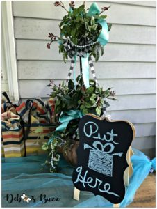 tiffany-theme-favorite-things-part-gift-exchange-sign