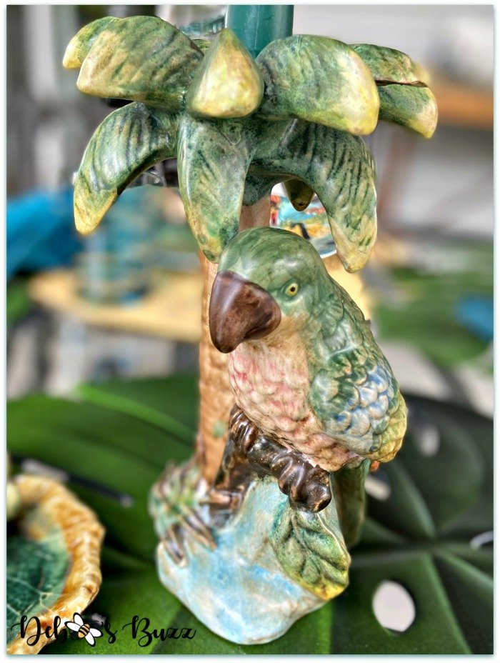 parrot-palm-tree-candlestick-holder
