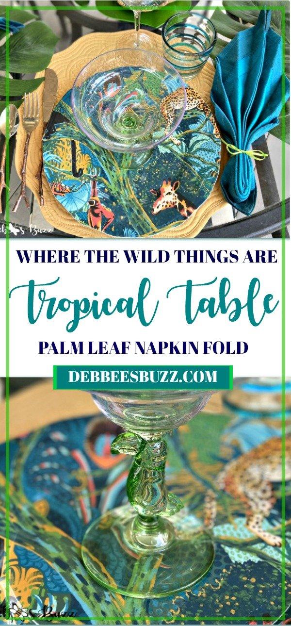 tropical-table-palm-leaf-napkin-fold-summer-tablescape
