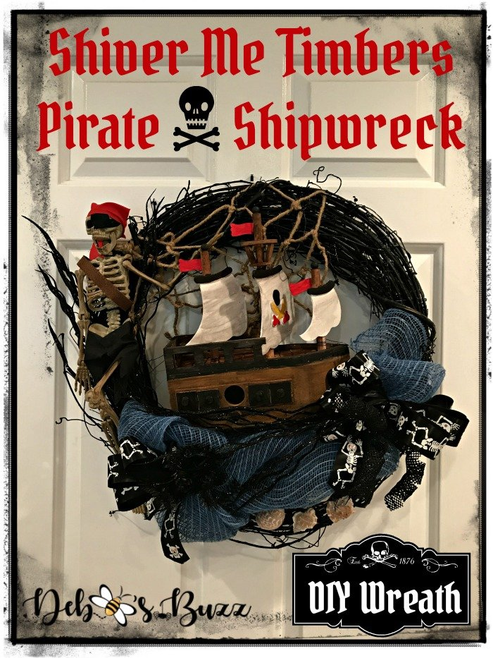 DIY-Halloween-skeleton-pirate-wreath-black-grapevine