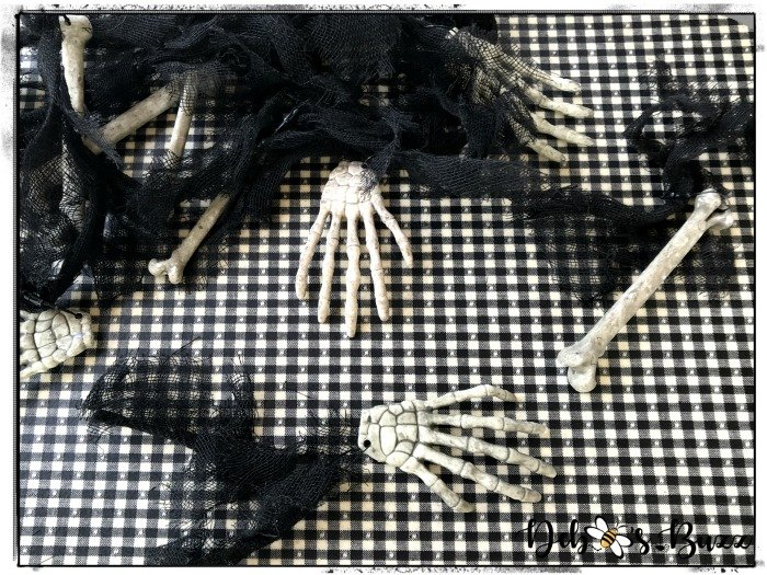 cutting-apart-Halloween-bone-garland