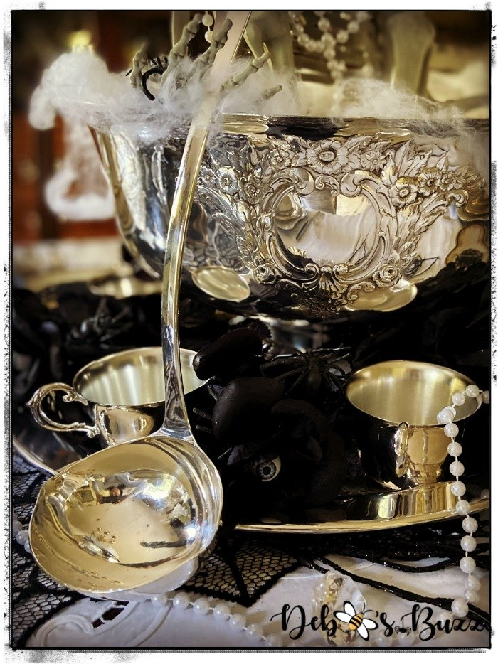 Halloween-gothic-glam-silver-punchbowl