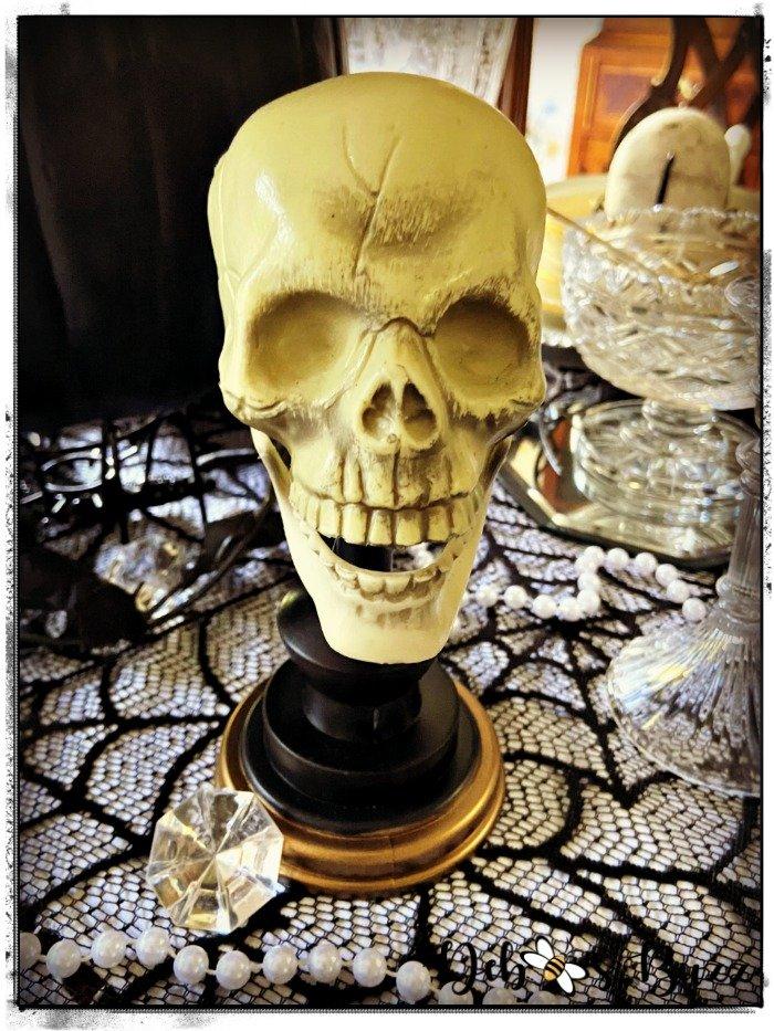 Halloween-gothic-glam-skull-head