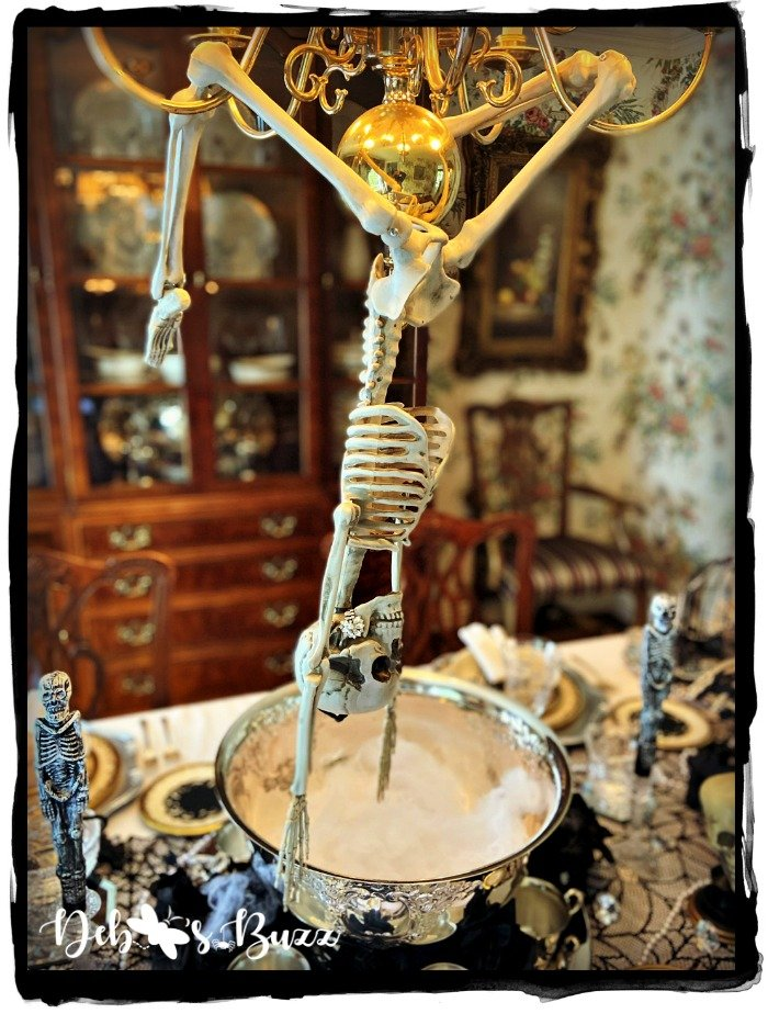 Halloween-silly-skeleton-pose-chandelier-dive-punchbowl