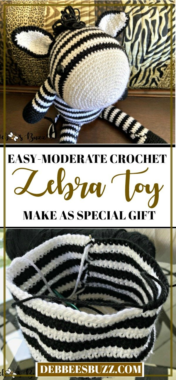 crochet-zebra-baby-birthday-Christmas-gift