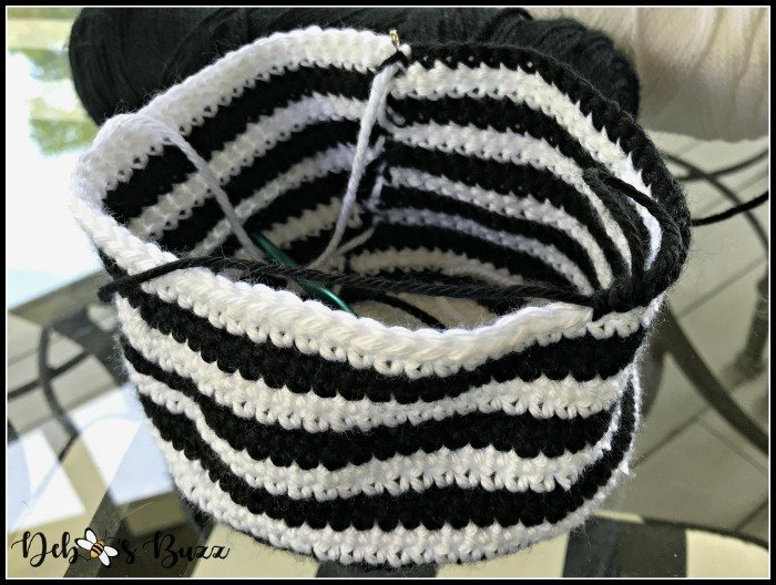 crochet-zebra-stripe-body-before-stuff