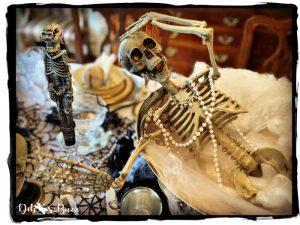 Halloween-diva-silly-skeleton-pose-punchbowl