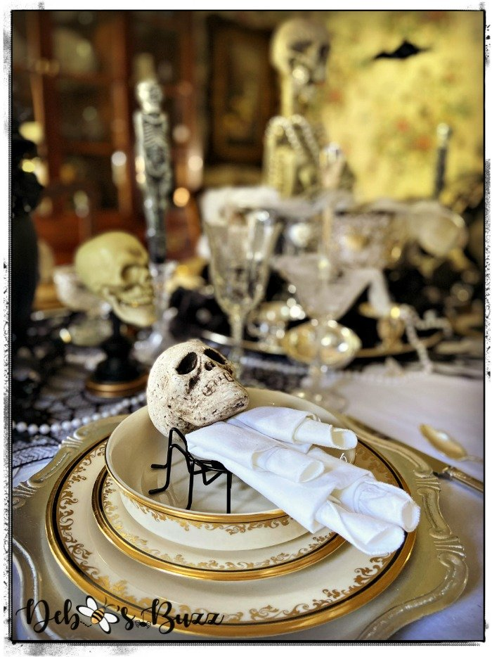 gothic-glam-Halloween-table-Lenox-Eclipse-plate-stack