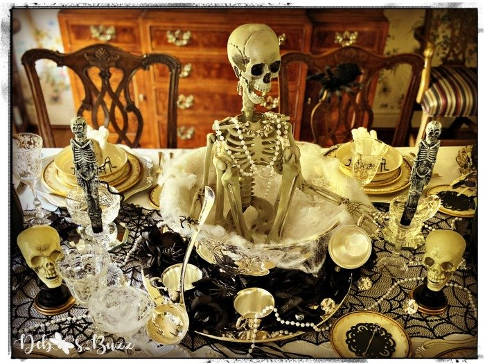 gothic-glam-halloween-table-centerpiece-skeleton-punchbowl