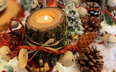 Enchanting Winter Woodland Tablescape for Christmas