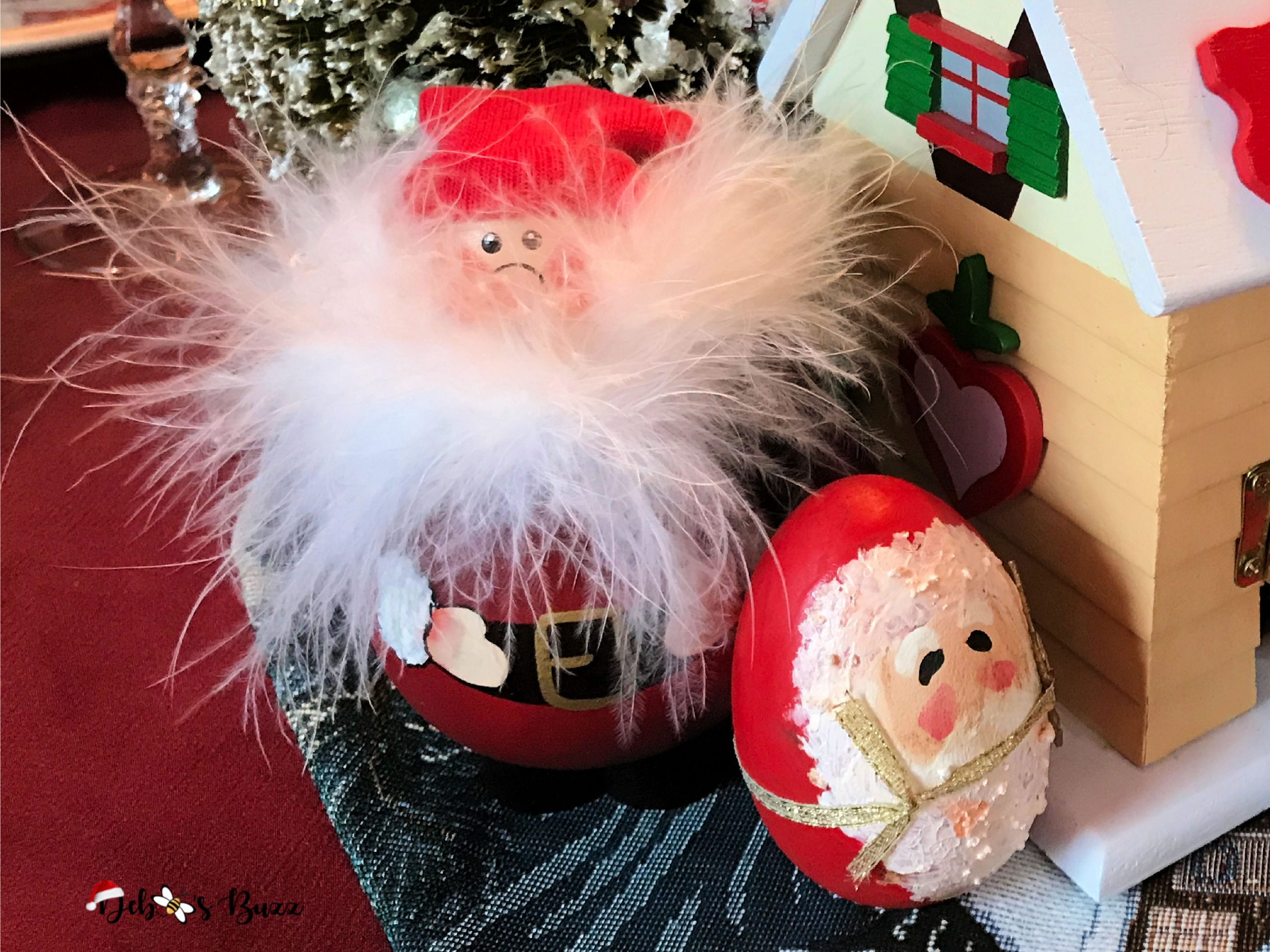 Santa-Claus-collection-handmade-figures