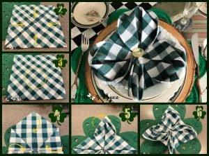 6-step-shamrock-clover-napkin-fold-tutorial