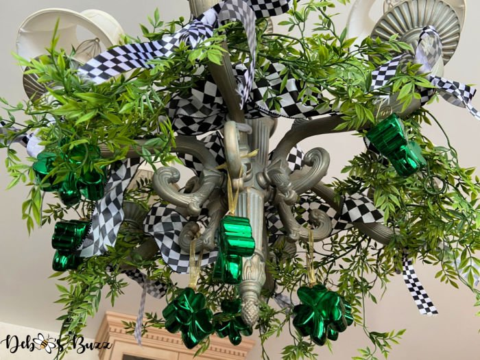 St.-Patrick's-Day-decorated-chandelier