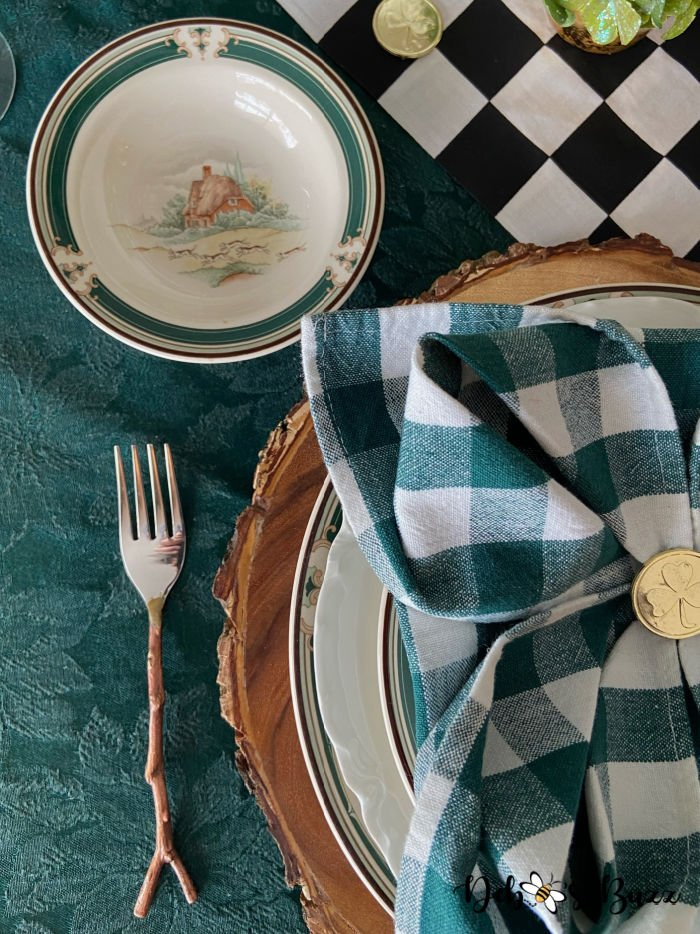 St.-Patrick's-Day-table-setting-Noritake-Ireland-Pursuit-bowl
