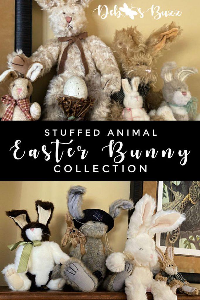 stuffed-animal-Easter-bunny-collection