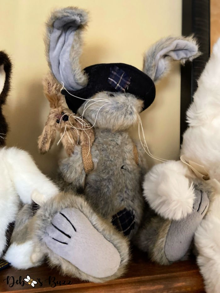 stuffed-grey-patched-Easter-bunny