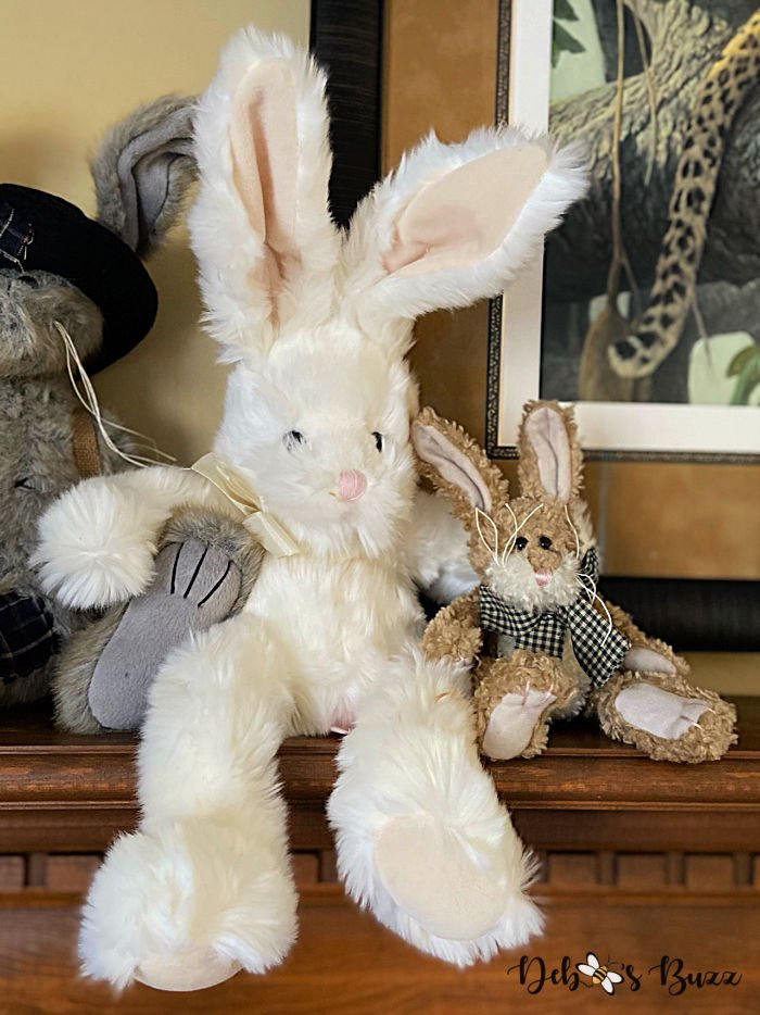 stuffed-white-floppy-Easter-bunny