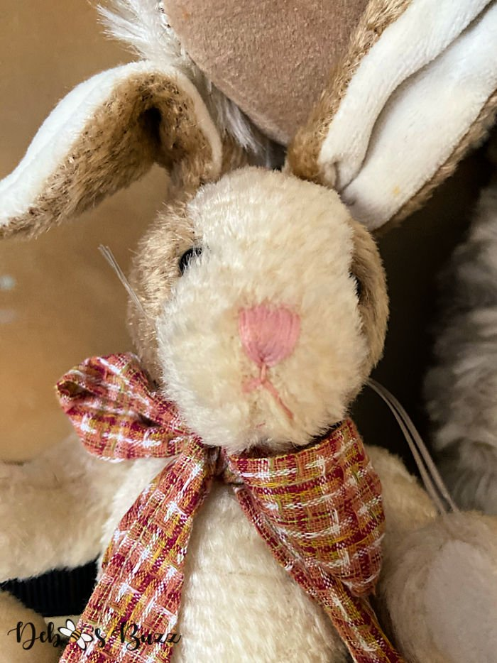 vintage-style-stuffed-tan-white-Easter-bunny