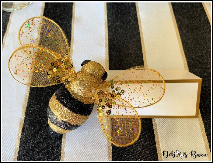 bee-theme-table-place-card