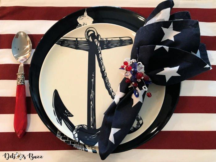 patriotic-decor-nautical-anchor-place-setting