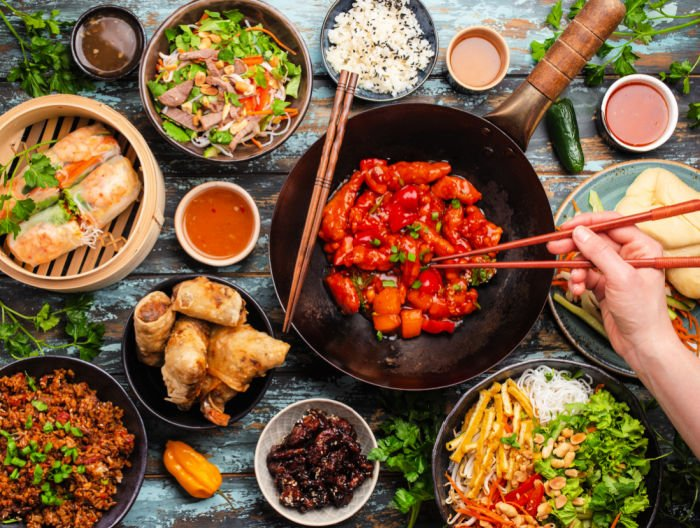 Asian-style-Vietnamese-dishes-buffet
