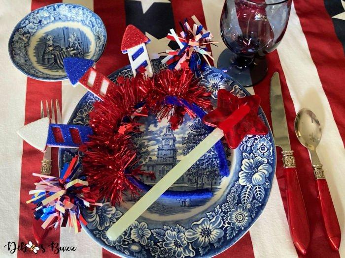 Festive Stars & Stripes Patriotic Decor Updates