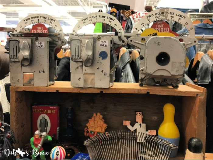 vintage-parking-meters-Brooklyn-flea-market
