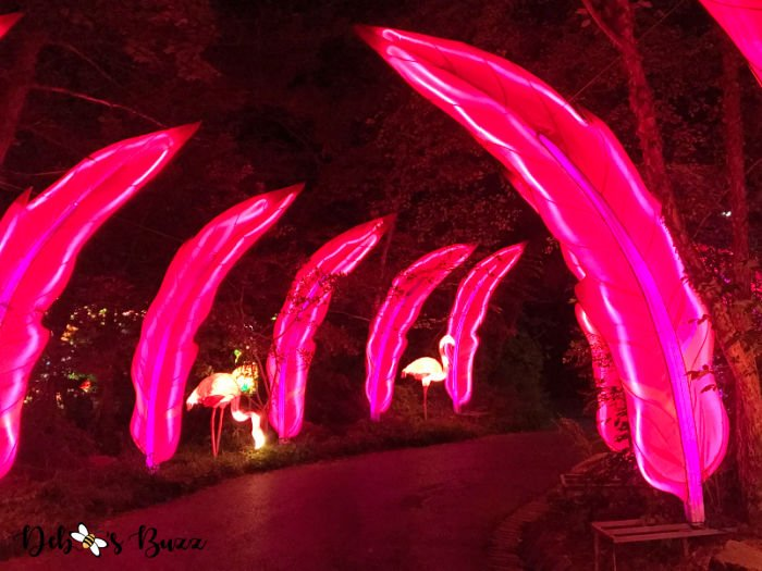 Pittsburgh-Zoo-Asian-pink-flamingo-feather-lantern-display