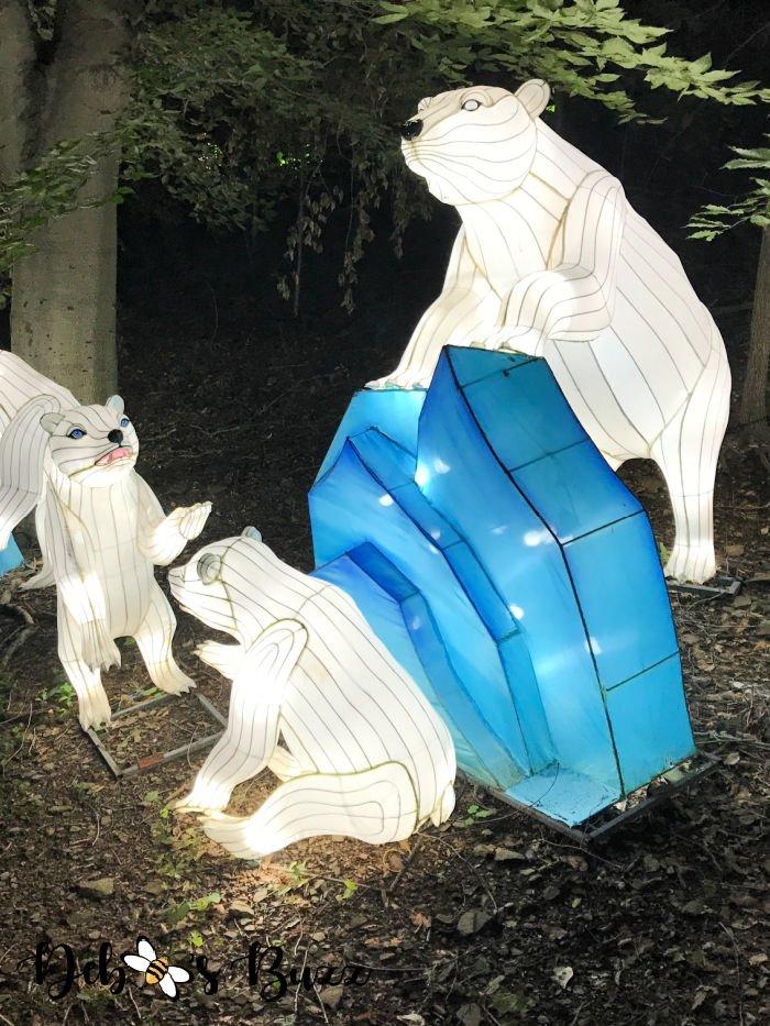 Pittsburgh-Zoo-Asian-polar-bear-lantern-display